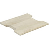 FindIt 10.18-in L x 9.62-in W Wood Cutting Board