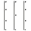 Artise & Wright 44-in Matte Wrought Iron Classic Stair Baluster