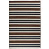 Garland Riley 4-ft 6-in x 6-ft Rectangular Multicolor Block Area Rug