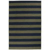 Garland Rugby 4-ft 6-in x 6-ft Rectangular Multicolor Block Area Rug