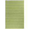Garland Avery 4-ft 6-in x 6-ft Rectangular Green Block Area Rug