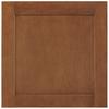 Shenandoah Breckenridge 14.5-in x 14.5625-in Cognac Maple Square Cabinet Sample