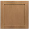 Shenandoah Breckenridge 14.5-in x 14.5625-in Spice Maple Square Cabinet Sample