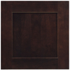 Shenandoah Mission 14.5-in x 14.5625-in Java Cherry Square Cabinet Sample