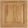 Shenandoah Grove 13-in x 12.875-in Honey Oak Square Cabinet Sample