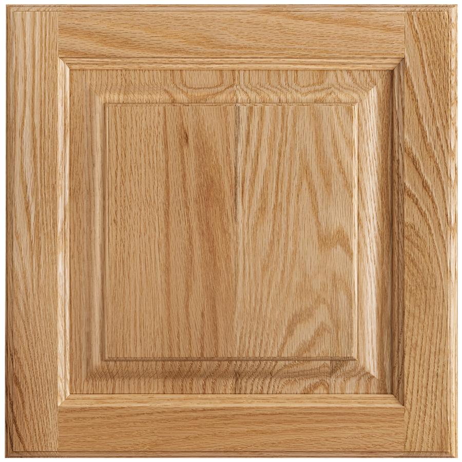 Shop shenandoah grove 13 in x 12 875 in natural oak square cabinet
