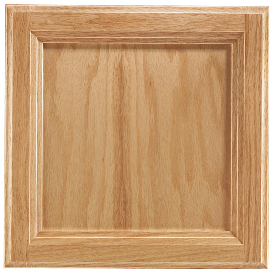 Shop shenandoah dominion 13 in x 12 875 in natural oak square cabinet