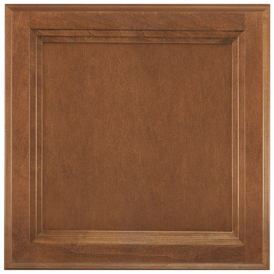 13-in x 12.875-in Cognac Maple Square Cabinet Sample at Lowes.com