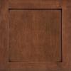 Shenandoah Breckenridge 14.5-in x 14.5-in Chocolate Glaze Cherry Square Cabinet Sample