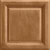 Shenandoah Bluemont 14.5-in x 14.5625-in Mocha Glaze Maple Square Cabinet Sample