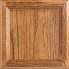 Shenandoah Dominion 14.5-in x 14.5625-in Tawny Oak Square Cabinet Sample