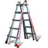 Little Giant Ladders 22-ft Aluminum 250-lb Telescoping Type I Multi-Position Ladder