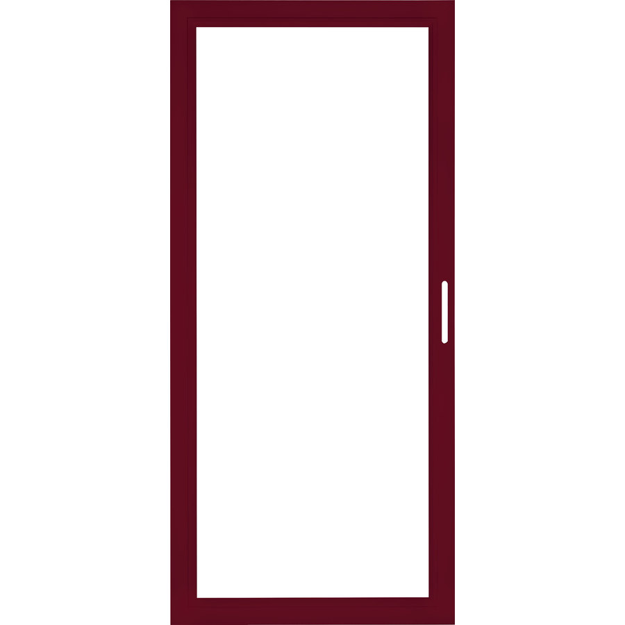 Shop Pella Select Aluminum 81 In X 36 In Storm Door Frame At