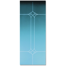 Pella Select Tulip Bevel Storm Door Glass