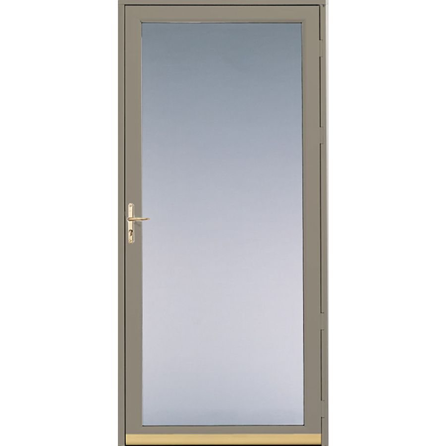 Shop pella putty full view safety glass and for Storm door prices