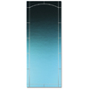 Pella Select Nickel Arch Storm Door Glass