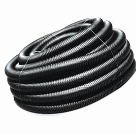 ADS 3-in x 50-ft Corrugated Solid Pipe