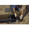 ADS 4-in x 100-ft Corrugated Solid Pipe