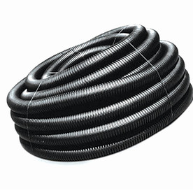 Hancor 4-in x 100-ft Corrugated Solid Pipe