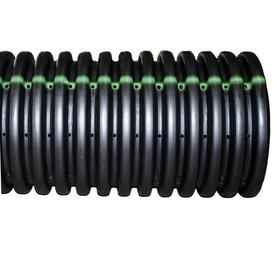 ADS 4-in x 10-ft Corrugated Perforated Pipe