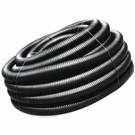 Hancor 4-in x 50-ft Corrugated Solid Pipe