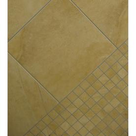 Classic Mojave Gold Glazed Porcelain Indoor/Outdoor Floor Tile (Common: 18-in x 18-in; Actual: 17.75-in x 17.75-in)