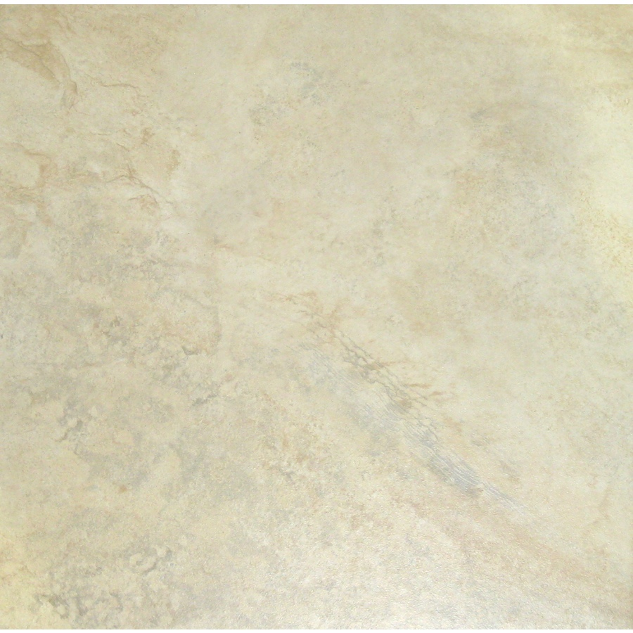 Shop style selections mesa almond glazed porcelain indoor outdoor floor tile common 18 in x 18 - Lowes floor tiles porcelain ...