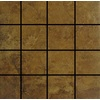 12-in x 12-in Camelot Red Glazed Porcelain Listello Tile