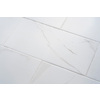 Calacatta 7-Pack White Porcelain Floor and Wall Tile (Common: 12-in x 24-in; Actual: 11.75-in x 23.75-in)
