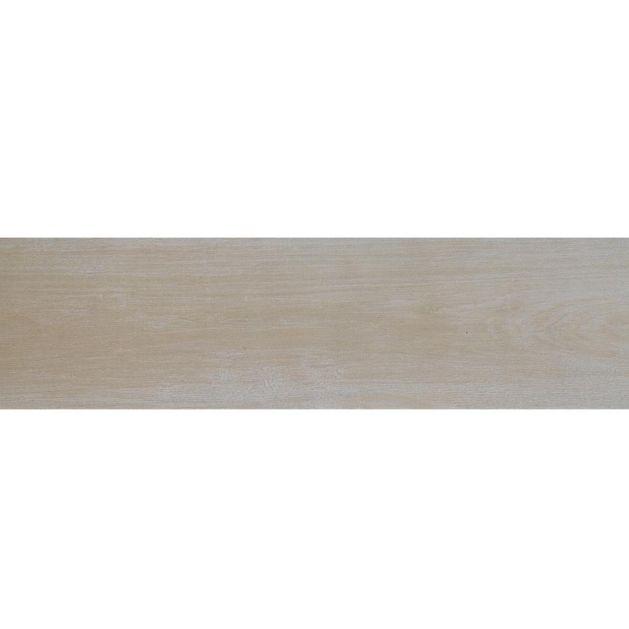 In Metro Wood White Glazed Porcelain Floor Tile Actuals 6 In X 24 In
