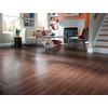 Style Selections Serso Black Walnut Porcelain Floor and Wall Tile (Common: 6-in x 24-in; Actual: 5.75-in x 23.75-in)