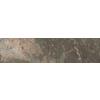 FLOORS 2000 Afrika Cape Town Black Glazed Porcelain Indoor/Outdoor Bullnose Tile (Common: 3-in x 12-in; Actual: 3-in x 12-in)
