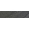 FLOORS 2000 Galaxy Nero Black Glazed Porcelain Indoor/Outdoor Bullnose Tile (Common: 3-in x 12-in; Actual: 3-in x 12-in)