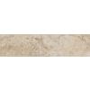 FLOORS 2000 Tiburstone Beige Glazed Porcelain Mosaic Indoor/Outdoor Bullnose Tile (Common: 3-in x 12-in; Actual: 3-in x 12-in)