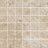 FLOORS 2000 Tiburstone Beige Uniform Squares Mosaic Porcelain Floor and Wall Tile (Common: 12-in x 12-in; Actual: 11.75-in x 11.75-in)
