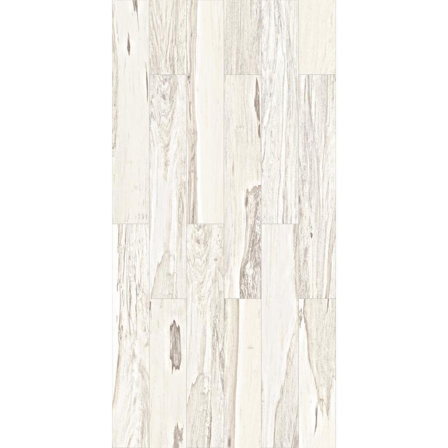 Brazilian Pecan White Glazed Porcelain Indoor Outdoor Floor Tile