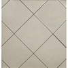 Surface Source 12-in x 12-in Classic Marble Beige Glazed Porcelain Floor Tile