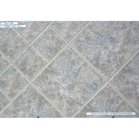 Lowe 39 S 12 In X 12 In Ceramic Slate Grey Glazed Porcelain Floor Tile