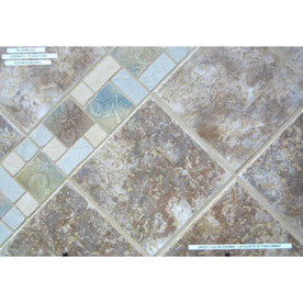Surface Source 12-in x 12-in Corinth Flagstone Glazed Porcelain Floor Tile