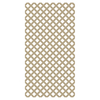 Barrette 0.2-in x 4-ft x 8-ft Wicker Traditional Vinyl Lattice