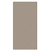 Barrette Saddle Vinyl Privacy Lattice (Common: 1/4-in x 48-in x 8-ft; Actual: 0.19-in x 47.53-in x 7.92-ft)