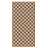Barrette 1/4-in x 4-ft x 8-ft Redwood Tone Privacy Vinyl Lattice