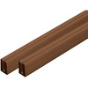 Barrette 0.125-in x 48-in x 0.75-ft Redwood Tone Lattice Cap