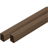 Barrette 0.125-in x 48-in x 0.75-ft Wood Tone Lattice Cap