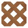 Barrette Pacific Cedar Privacy Vinyl Lattice (Common: 0.2-in x 4-ft x 8-ft; Actual: 0.19-in x 48-in x 96-in)