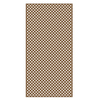 Barrette 1/8-in x 4-ft x 8-ft Cedar Tone Privacy Vinyl Lattice