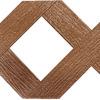 Barrette Redwood Vinyl Traditional Lattice (Common: 1/4-in x 48-in x 8-ft; Actual: 0.15-in x 47.53-in x 7.92-ft)