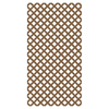 Barrette 1/8-in x 4-ft x 8-ft Redwood Tone Traditional Vinyl Lattice