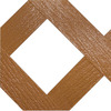 Barrette Cedar Vinyl Traditional Lattice (Common: 3/20-in x 48-in x 8-ft; Actual: 0.15-in x 47.53-in x 7.92-ft)