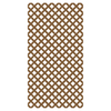 Barrette 1/8-in x 4-ft x 8-ft Cedar Tone Traditional Vinyl Lattice